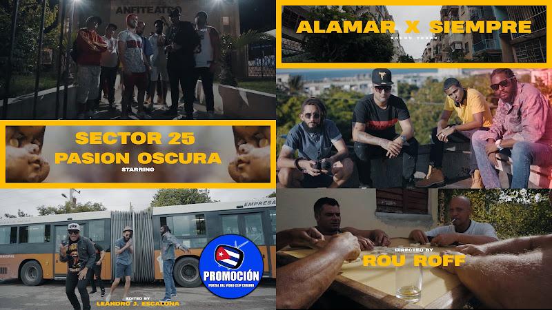Pasión Oscura & Sector 25 - ¨Alamar por Siempre¨ - Videoclip - Dirección: Rou Roff. Portal Del Vídeo Clip Cubano. Música cubana. Hip Hop. Rap. Cuba.