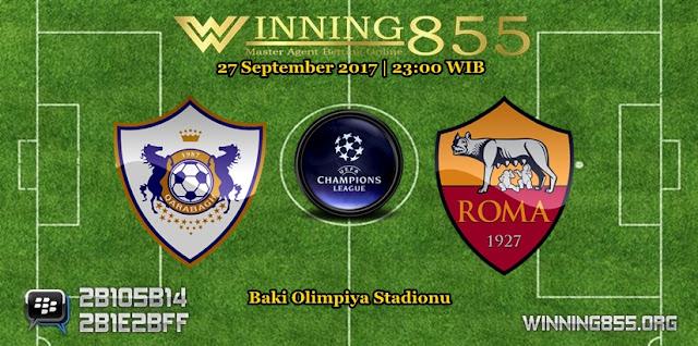 Prediksi Skor Qarabag vs Roma