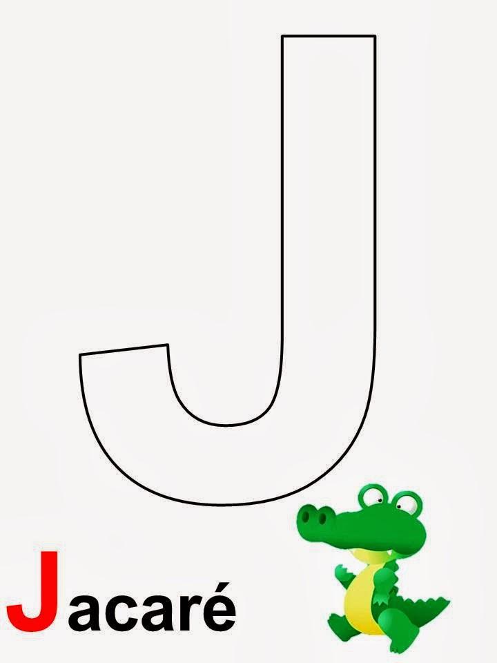 alfabeto jacaré