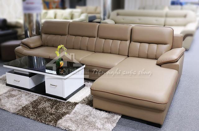 Thảm trải sàn đẹp kết hợp với ghế sofa cao cấp