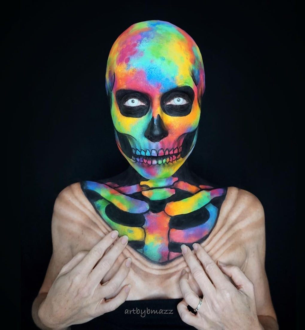 06-Art-is-in-my-bones-I-am-art-Brenna-Mazzoni-Body-Paint-Fx-Makeup-Transformations-www-designstack-co