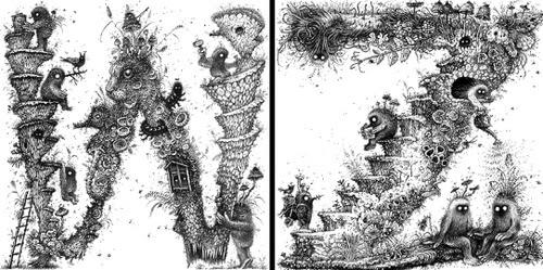 00-Doodle-Monsters-Monika-Mitkute-www-designstack-co