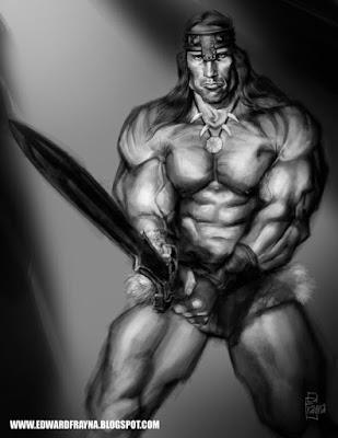 Ficha de Conan da Ciméria para o sistema Daemon