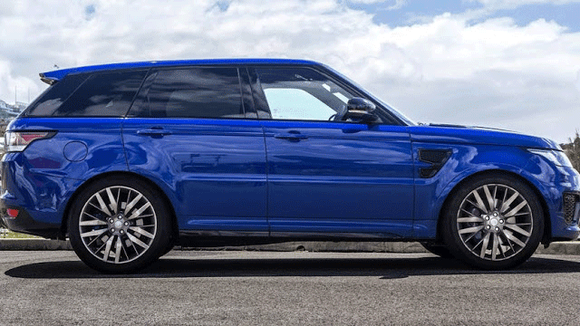 Range Rover Sport SVR weight