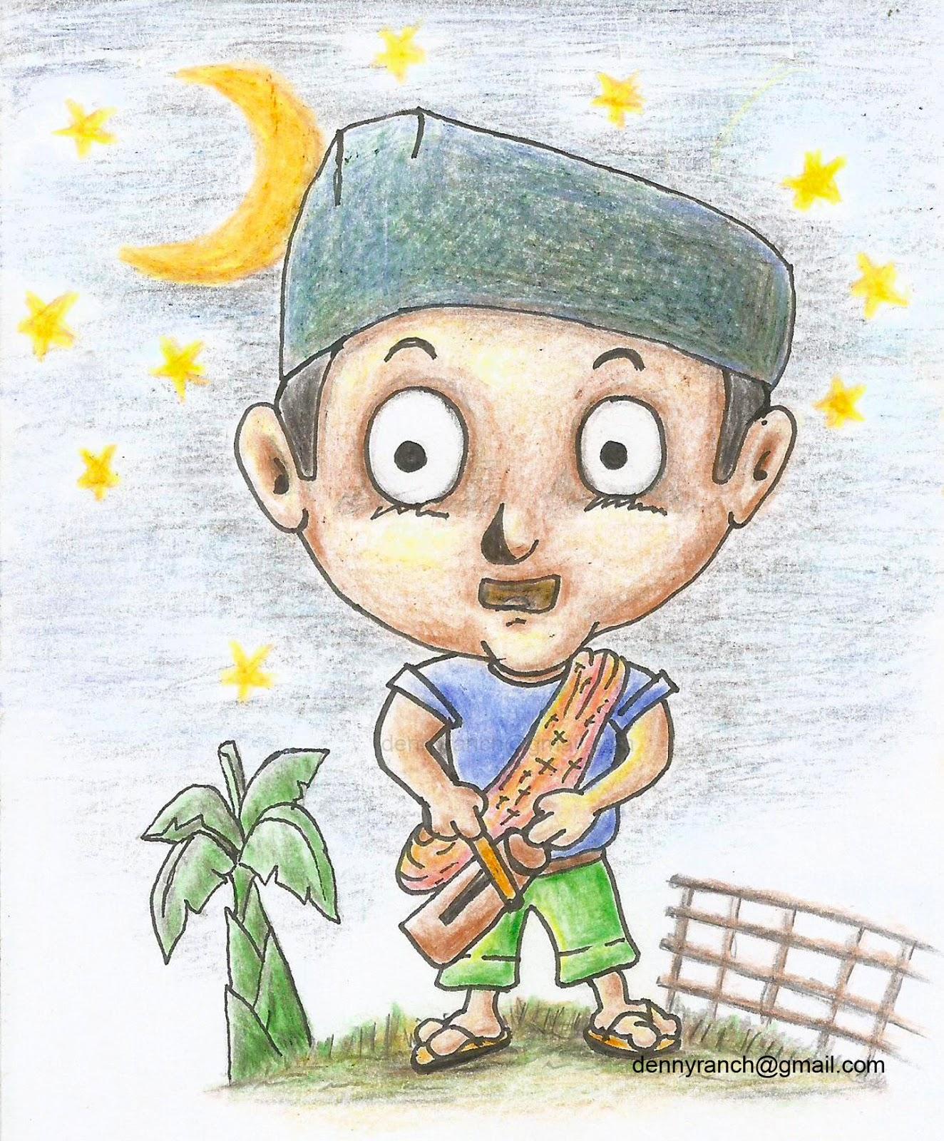 Karikatur Orang Ronda