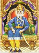 King Anaranya - descendant of Ikshwaku