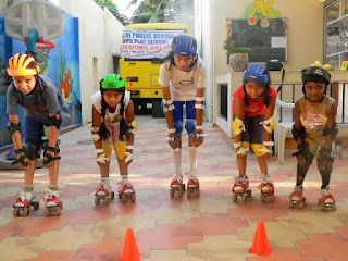 tenacity skating classes in Hyderabad for basics