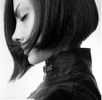 model rambut pendek sebahu tanpa poni