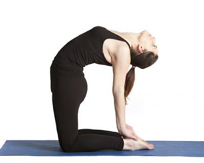 Tư thế Lạc Đà- Camel Yoga pose