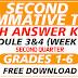 SECOND Summative Test GRADES 1-6 Q2