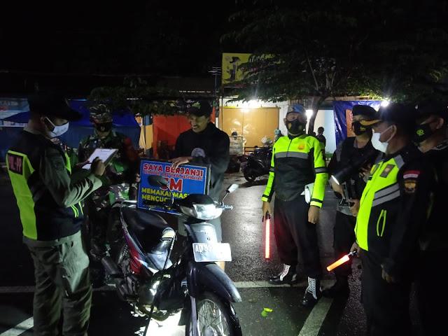 Upaya Penanganan Covid 19, TNI/Polri Dan Dinas Terkait Terus Bersinergi Melakukan Patroli Himbauan Prokes