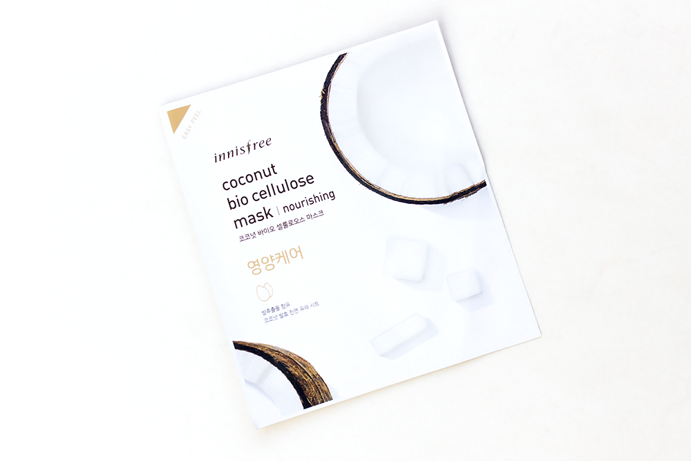 Innisfree Coconut Bio Cellulose Nourishing mask review