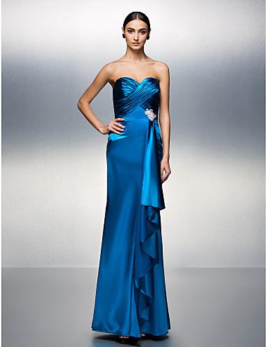 vestidos de XV años azules largos