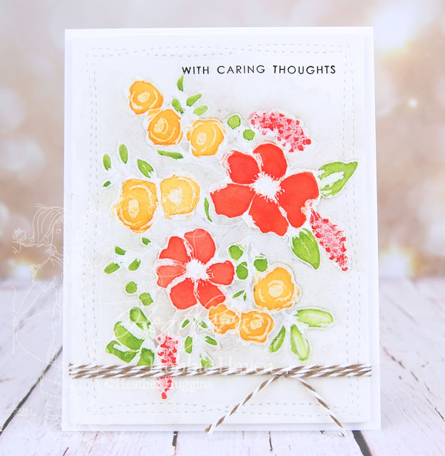 Heather's Hobbie Haven - Live Coloring with Heather - Fresh Flowers 1