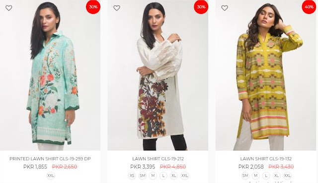 Ideas By Gul Ahmed women pret online sale up-to 50% off