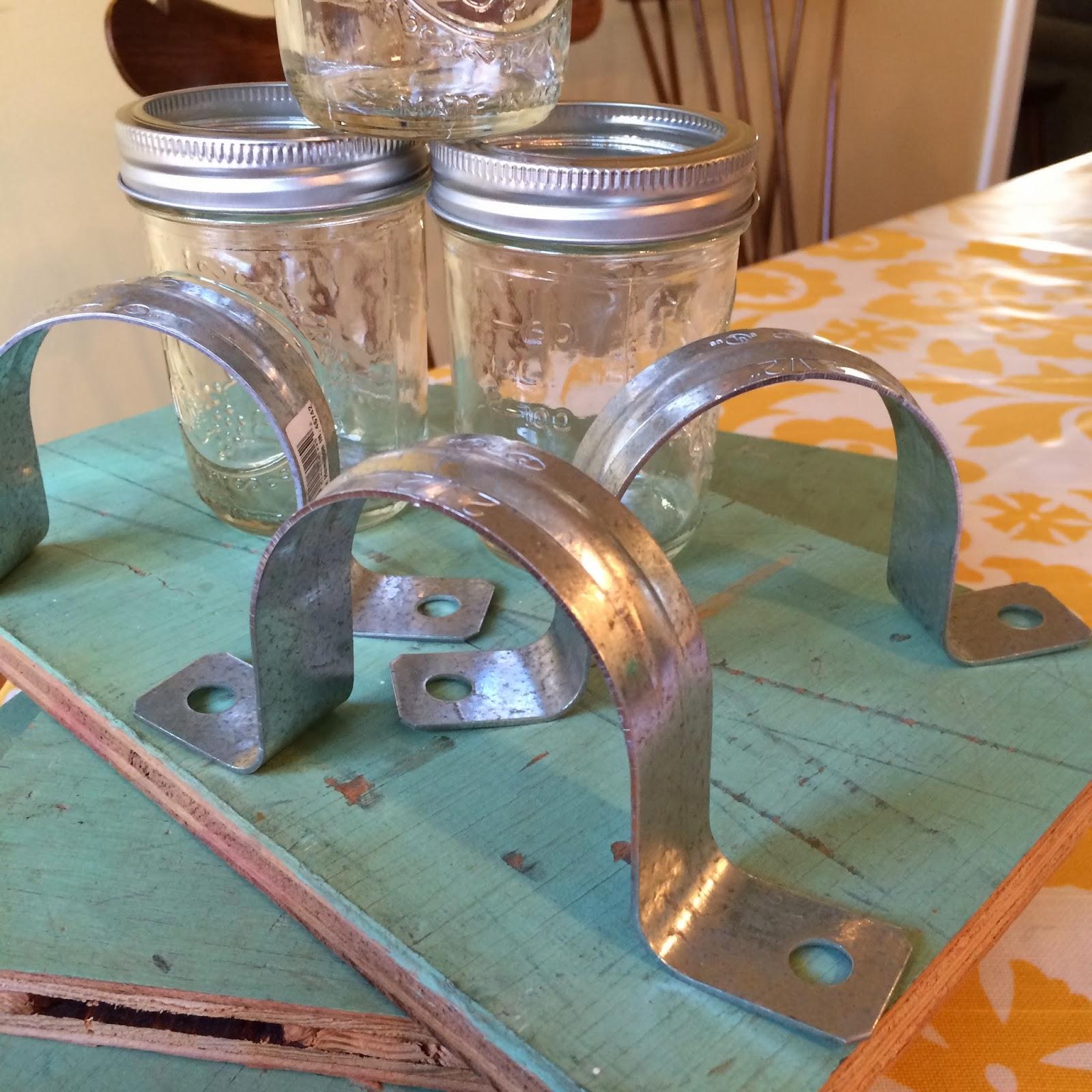 The Crafty Farmer: Mason Jar Wall Vase