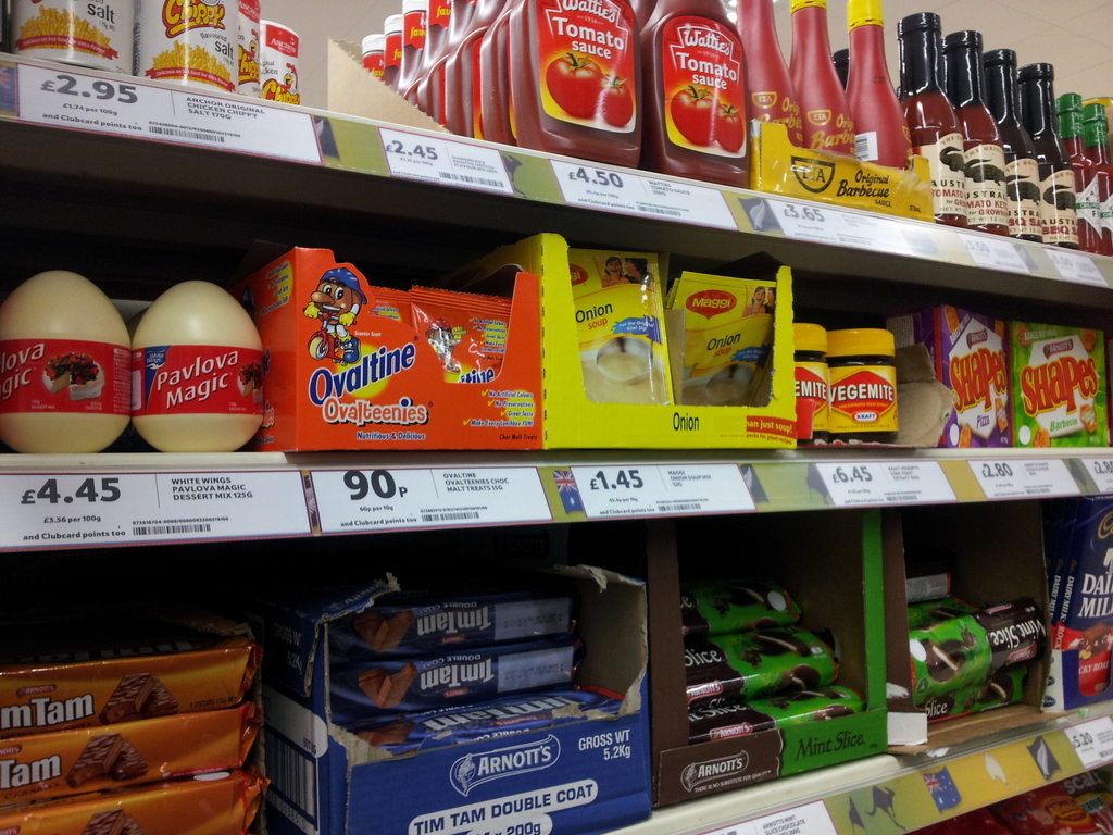 Tams Near Me >> Kiwi Treats - Tesco Hammersmith - Adventures of a London Kiwi