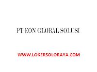 Lowongan Kerja IT Developer X2 di PT EON Global Solusi Karanganyar