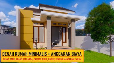 Rumah Minimalis 6x12 Dan Anggaran Biaya Desain Rumah Minimalis