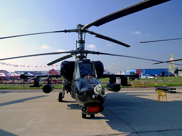 Gambar 08. Foto Helikopter Tempur Kamov Ka-50 Black Shark