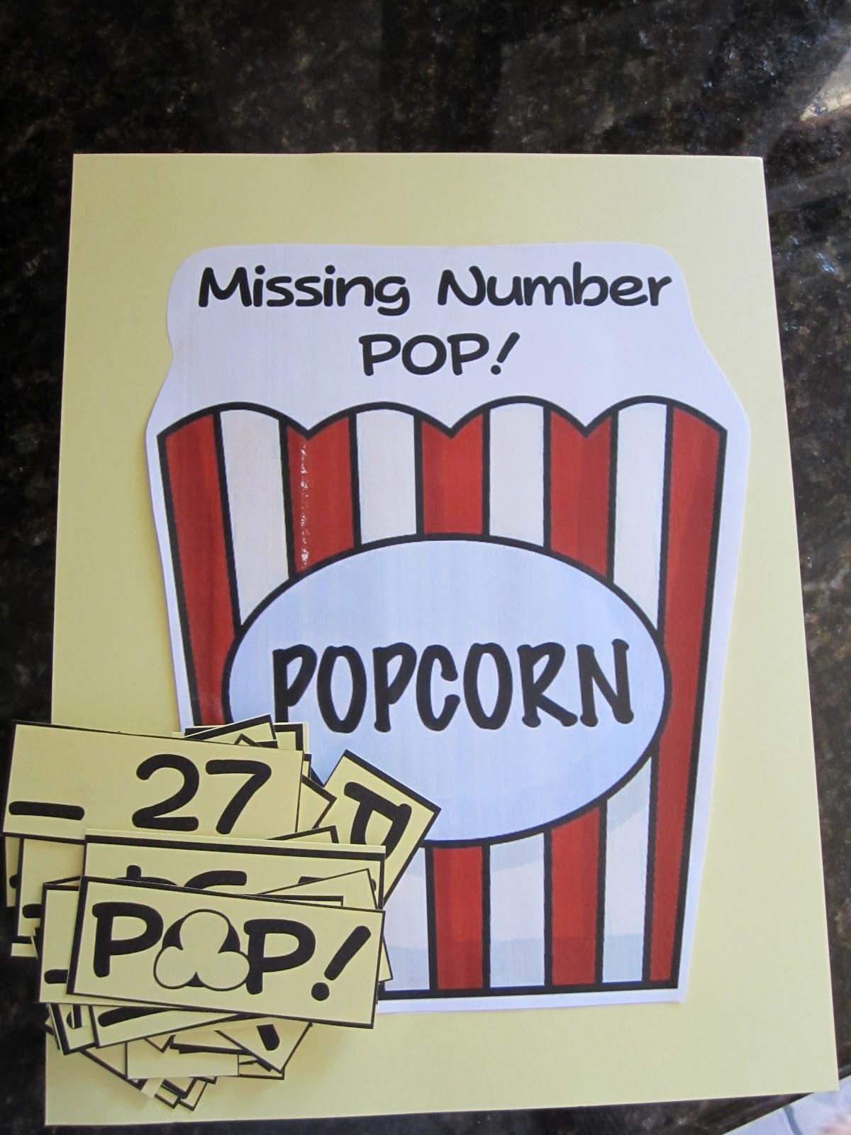 Kindergarten At Heart Missing Number Pop