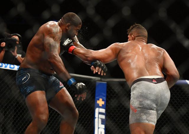 Alistair Overeem Stuns Walt Harris UFC on ESPN 8