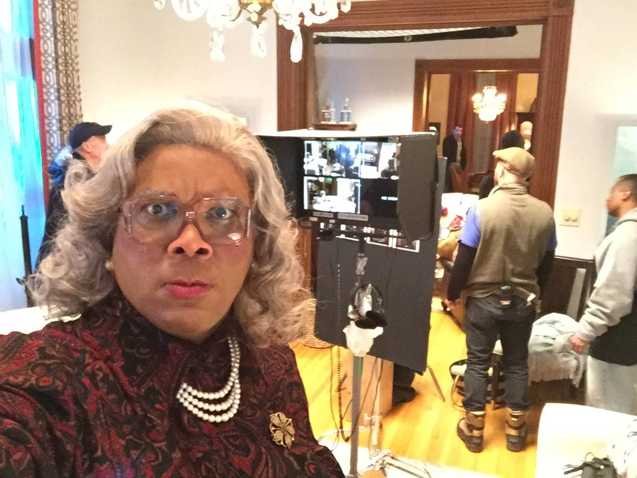 tyler perry s boo a madea halloween trailer viben on films