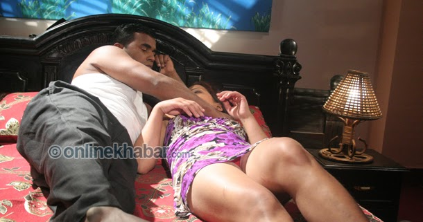 Nepali Sex Pictures In Bed 44