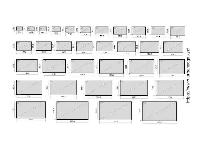 TV screen sizes cad blocks download, 30+ TV screen cad blocks