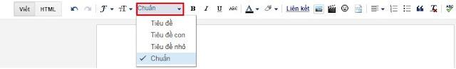 Cách tối ưu Heading bài viết chuẩn cho blogspot