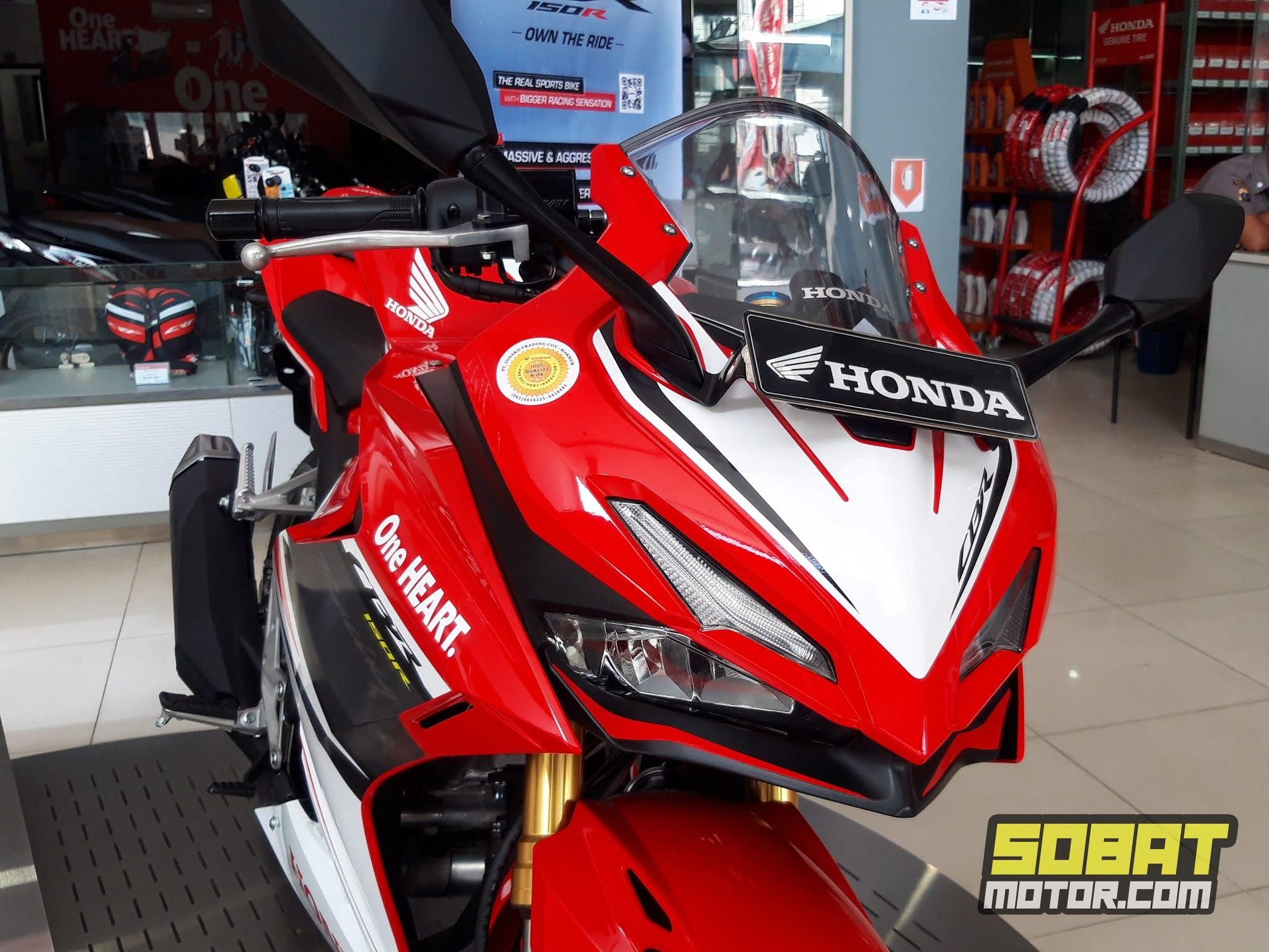 Impresi pertama Honda CBR150R 2021, makin mirip CBR250RR !