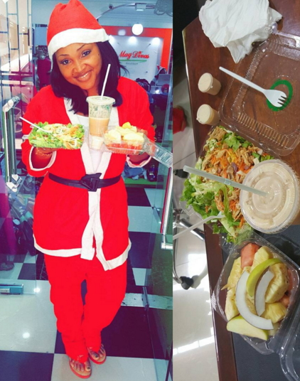 nollywood celebrities christmas look