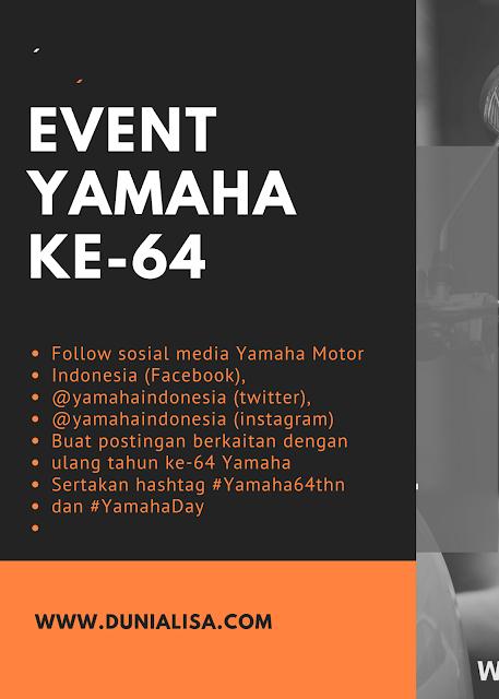 Ulang tahun Yamaha ke-64