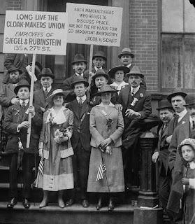 garment workers strike ladies cloakmakers