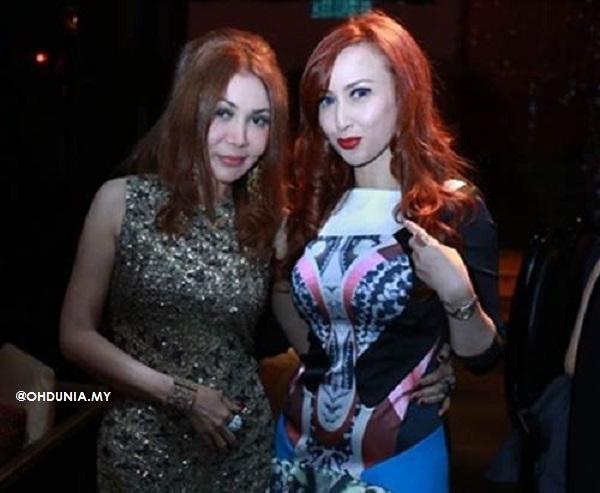 Karen (kiri) dan Maria Farida, pernah menjadi sahabat baik suatu ketika dulu