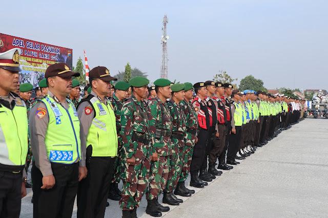 Prajurit Kodim Klaten Ikuti Apel Gelar Pasukan Operasi Patuh Candi 2019