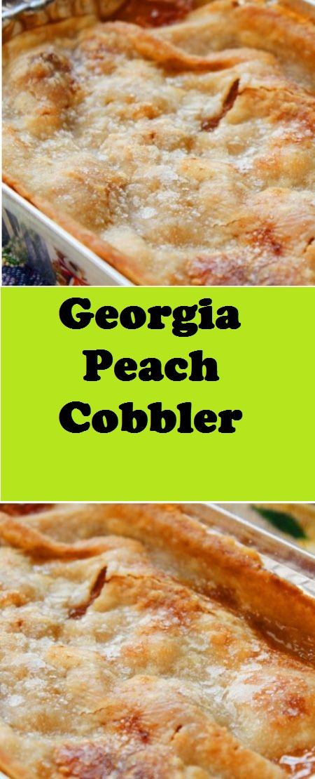 Georgia Peach Cobbler