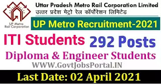 UP Metro Recruitment