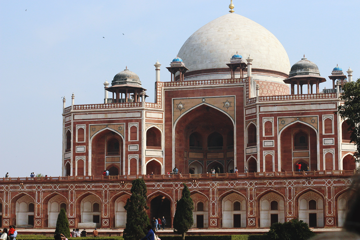 Humayun's tomb in New Delhi
