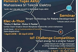 Event Electrical Engineering Days ITB 2018 SMA & Mahasiswa