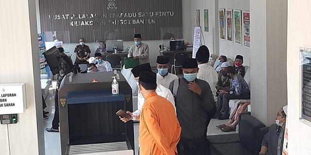 Kasus Hibah Rp 117 M, Honorer-Pengurus Ponpes di Banten Jadi Tersangka