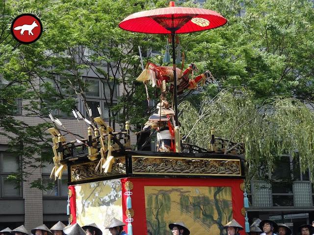 Char Jomyo Yama de Gion matsuri à Kyoto