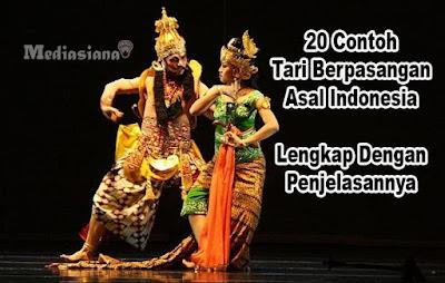 Contoh Tari Berpasangan Asal Indonesia