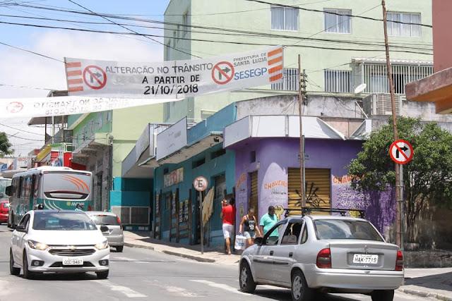 Prefeitura altera trânsito em alguns pontos da cidade, confira como vai ficar