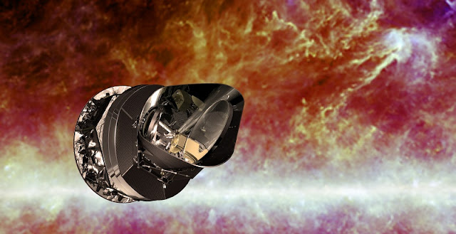 Artist's impression of the Planck spacecraft. Credit: ESA