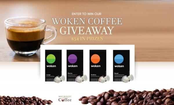 80 Espresso Pod Giveaway  (Worth Over : $54)