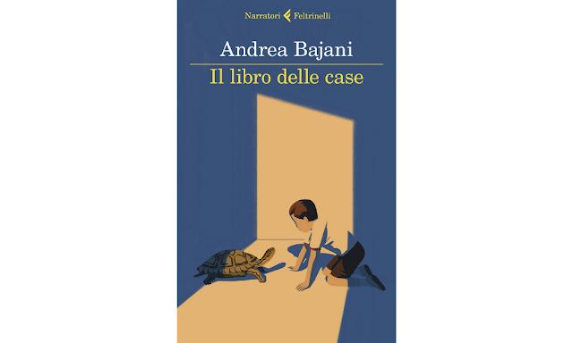 Andrea Bajani copertina di Il libro delle case