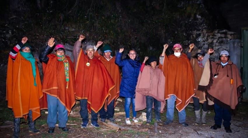 Rondas Campesinas reforzarán bloqueo de fronteras de Cajabamba