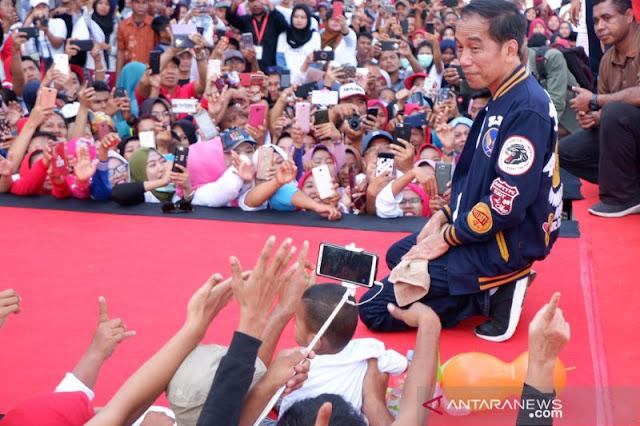 Tidak Sebut Angka 2, Jokowi Kekanak-kanakan