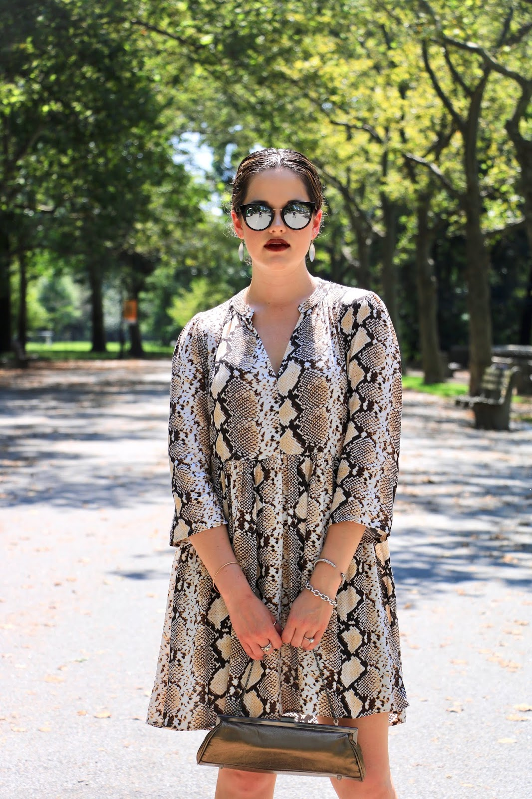 Nyc fashion blogger Kathleen Harper showing 2019 fall style trends.